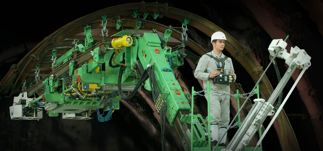 Monorail Drilling Units